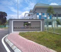 Kolej Komuniti Beaufort, Sabah